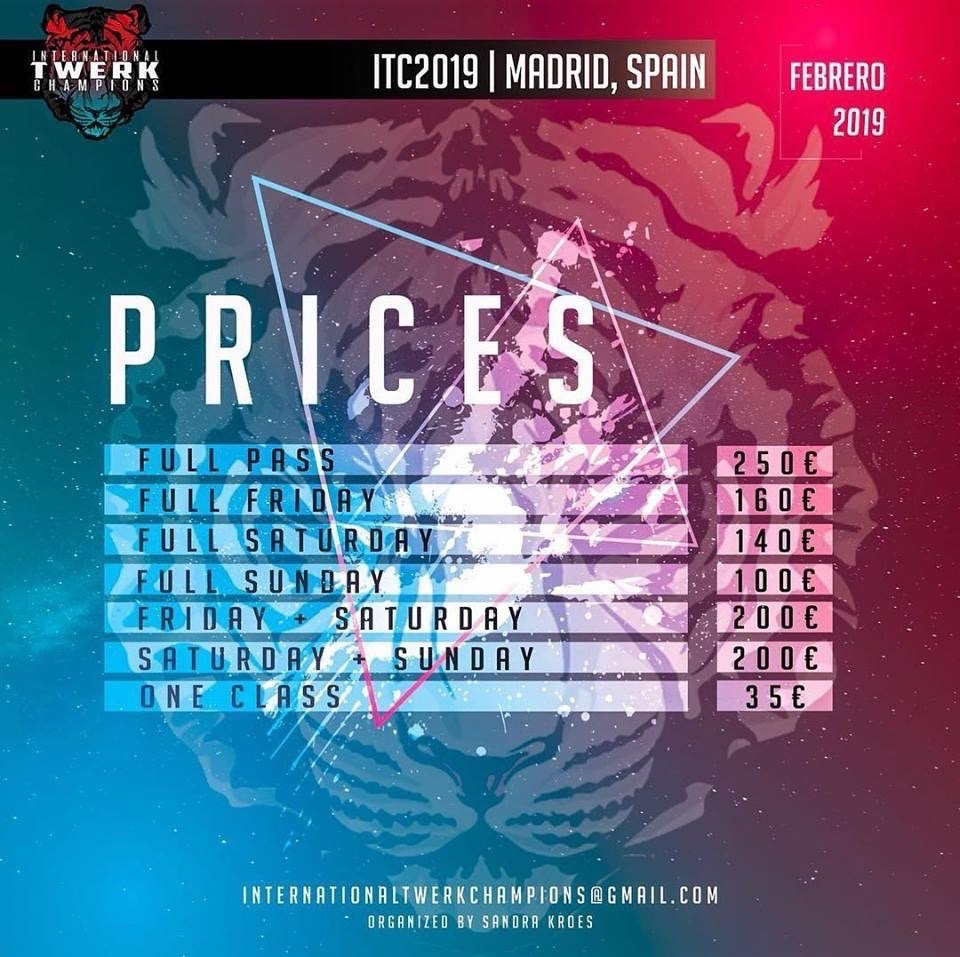 INTERNATIONAL TWERK CHAMPIONS 2019