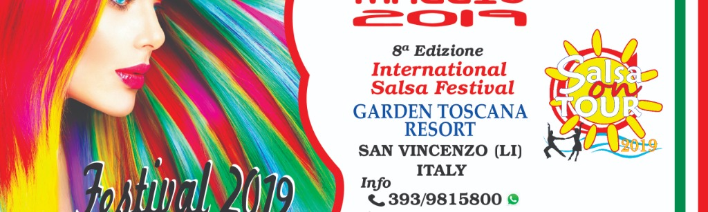 SALSA ON TOUR   INTERNATIONAL SALSA FESTIVAL IN ITALY