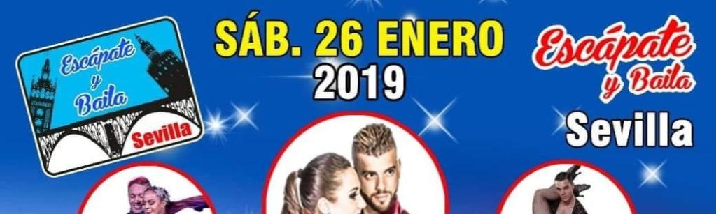 Escápate y Baila Sevilla 26 de enero