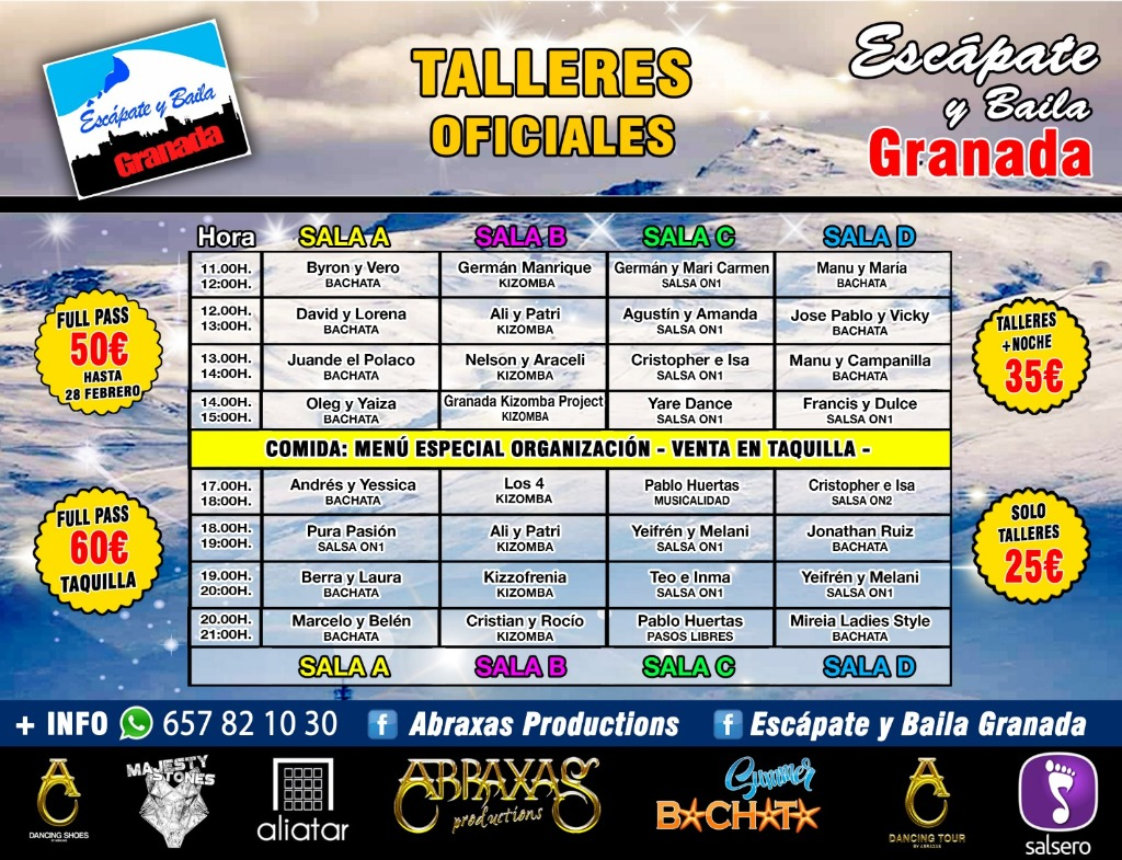 Escápate y Baila Granada 2019