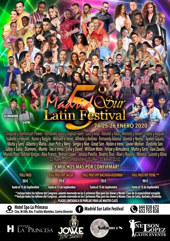 V Madrid Sur Latin Festival 2020