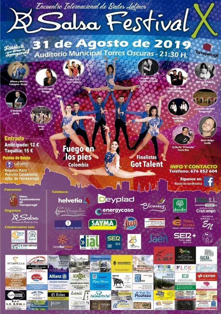 DK SALSA FESTIVAL TORREPEROGIL 2019