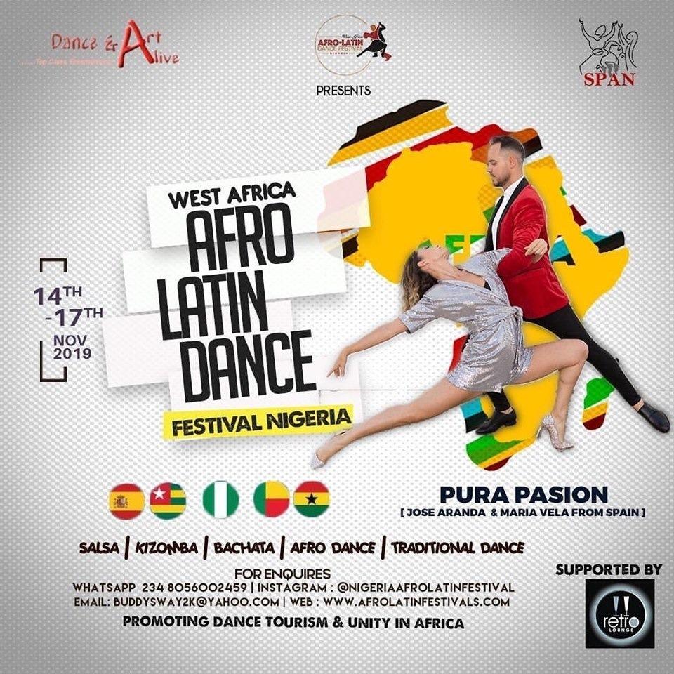 Nigeria Afrolatin Music & Dance Festival