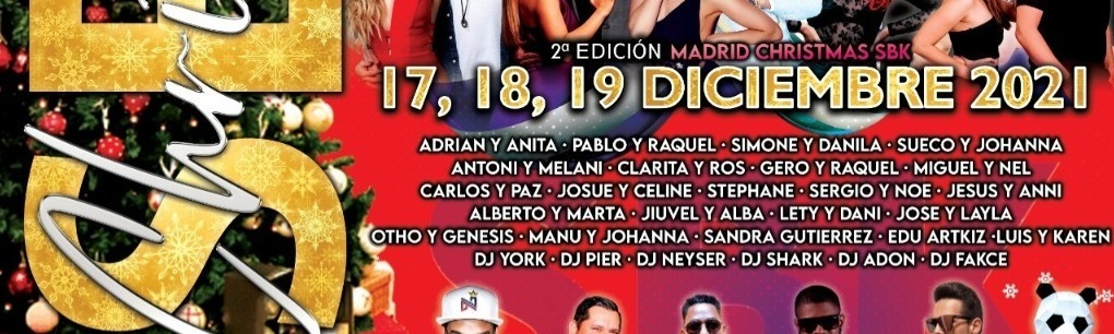 MADRID CHRISTMAS SBK 2 EDICION